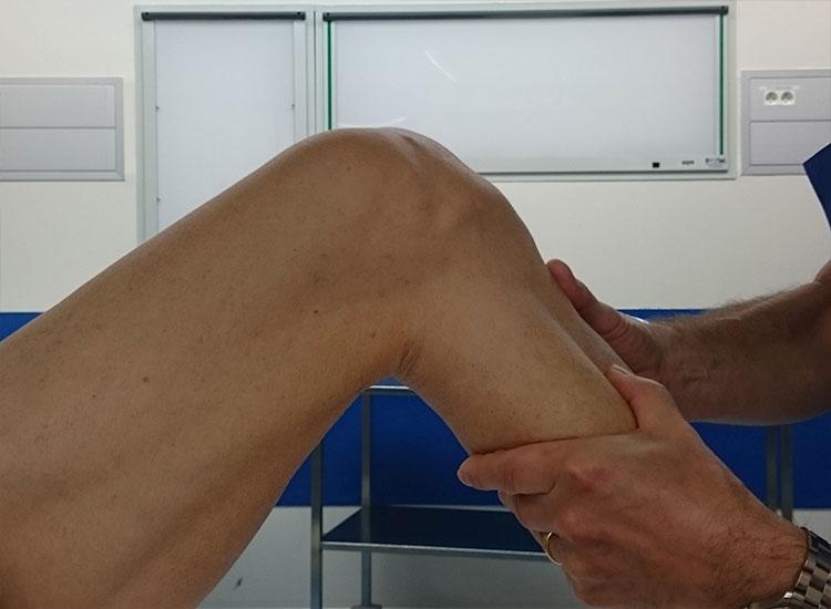 Tiroir genou fléchi à 90°